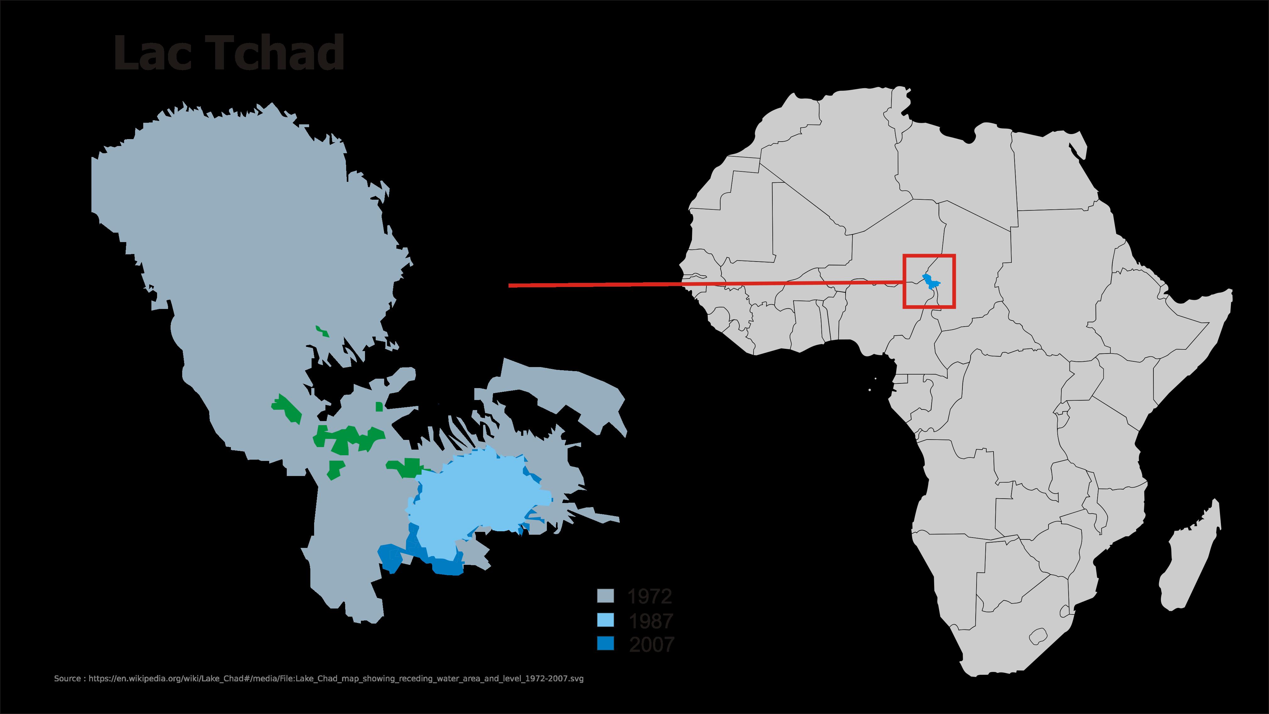 Carte Afrique Lac Tchad.Pays De La Region Du Lac Tchad Migrants Info