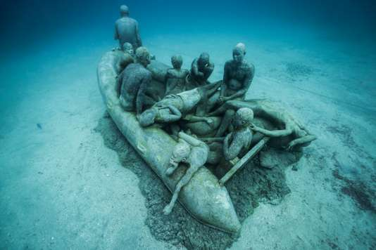 The Raft of Lampedusa, Lanzarote, Museo Atlantico, 2016